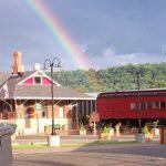 depot and rainbow